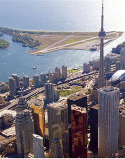 view of CN Tower, Toronto